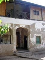 Photograph of Lamu government buildings, Kenya