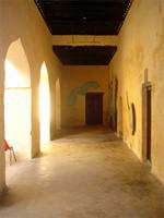 Photograph of the entrance to the Lamu Fort Environment Museum, Kenya