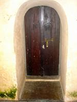 Photograph of a door, Lamu Town, Kenya