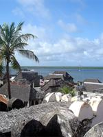 View of Lamu rooftops from the Fort, Kenya