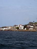 Photograph of the Lamu Waterfront, Kenya