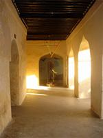 Photograph of the North Passage of the Lamu Fort and Exit, Kenya