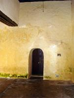 Photograph of the ground level of the Lamu Fort, Kenya
