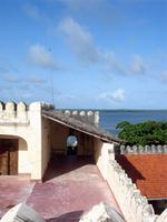 Photograph of the Northern palaside of the Fort, Lamu Town, Kenya