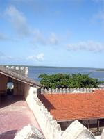 Photograph of the Eastern palaside of Fort, Lamu, Kenya
