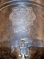 Photograph of the detail of a cannon, Lamu Town, Kenya