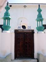 Photograph of the Shiaithna-Asheri Mosque, Lamu, Kenya