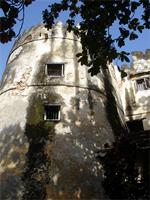 Photograph of the southern tower of the Lamu Fort, Kenya