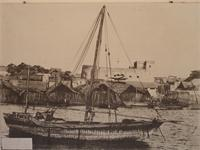 Photograph of Harbour of Lamu, Kenya