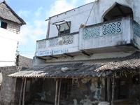 Photograph of a building in Lamu, Kenya