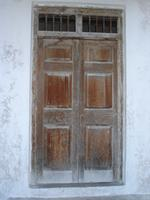 Photograph of the door from the Main Entrance, Lamu, Kenya