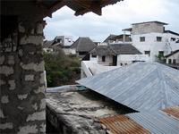 Photograph of a roof, Lamu Town, Kenya