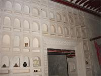 Photograph of a decoration in Swahilli House Museum, Lamu Town, Kenya