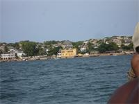 Photograph of Shela, view from the sea, Kenya