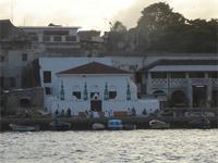 Photograph of the Bakara Mosque, View from the Sea, Kenya