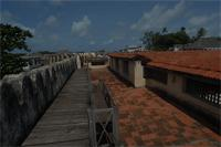 Photogrammetric image of Lamu Fort, Kenya