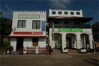 Photogrammetric images of Kenya Airways and Bank, Lamu Town, Kenya