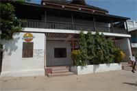 Building in Lamu: Sun Sail Hotel