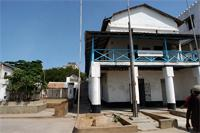 Stereoscopic Photograph of District Comissioner's Office building in Lamu, Kenya