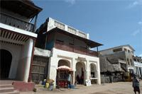 Stereoscopic Photographs of the Mombasa Air Safari building in Lamu, Kenya