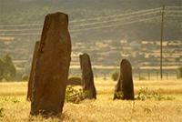 Image of the Gudit Stelae Field, Axum, Ethiopia