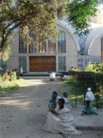 Image of the new Cathedral, Axum, Ethiopia