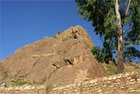 Image of the mountain next to Mai Shum, Axum, Ethiopia