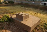 Image of the thrones at the foot of Mai Qoho hill, Axum, Ethiopia