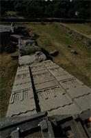 Photogrammetric image of Axum Stelae Field, Ethiopia