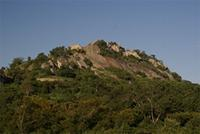 Image of the Hill Complex from the bottom of the valley, Zimbabwe