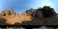 Panoramic image of Hill Complex, Zimbabwe