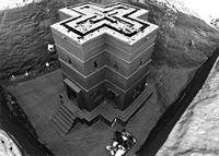 High resolution model of Biet Giorgis in Lalibela, Ethiopia