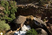 Image of the monastery, Lalibela, Ethiopia