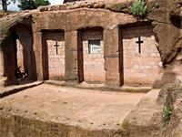 Image of Biet Mercureos in Lalibela, Ethiopia