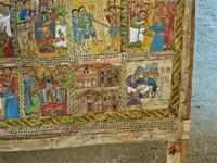 Image of paintings in Lalibela, Ethiopia