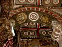 Image of paintings in Biet Mariam, Lalibela, Ethiopia
