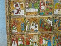 Image of a painting in Lalibela, Ethiopia