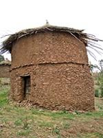 Image of a hut in Lalibela, Ethiopia