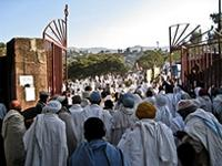 Image of local people in Lalibela, Ethiopia
