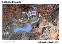 Image of Map of GIS, Lalibela, Ethiopia