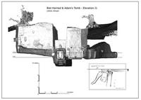 Elevation J1 of Biet Harried and Adams's Tomb in Lalibela, Ethiopia