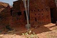 Photogrammetric images of Biet Abba Libanos in Lalibela, Ethiopia