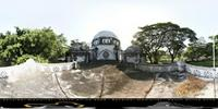 Panoramic image of Peace Memorial Museum in Zanzibar, Tanzania