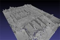 3D model of area 100 within the Great Enclosure in Musawwarat es-Sufra, Sudan