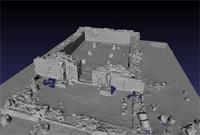 3D model of area 300 within the Great Enclosure in Musawwarat es-Sufra, Sudan