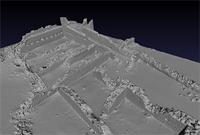 3D model of area 500 within the Great Enclosure in Musawwarat es-Sufra, Sudan