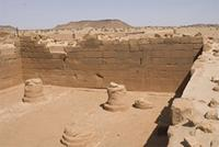 Photogrammetric image of area 300 within the Great Enclosure in Musawwarat es-Sufra, Sudan
