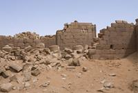 Photogrammetric image of area 200 within the Great Enclosure in Musawwarat es-Sufra, Sudan