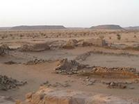 Image of area 400 within the Great Enclosure in Musawwarat es-Sufra, Sudan