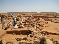 Image of area 300 within the Great Enclosure in Musawwarat es-Sufra, Sudan